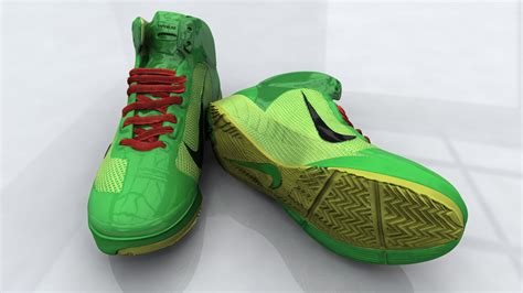 nick shoes 3d model nick lebron shoe