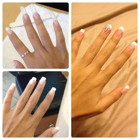 Silk Nails by Getting Silk Nails Set From Vu Awesome Yelp