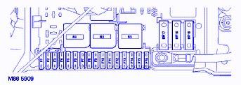 land rover range rover hse 2003 fuse box block circuit breaker diagram 187 carfusebox