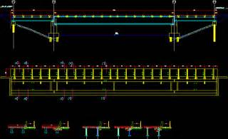 catwalk details viaduct in autocad drawing kamocad