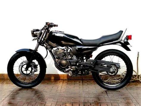 Rx King Hitam Modifikasi by Modifikasi Yamaha Rx King Serba Hitam Honda Cb