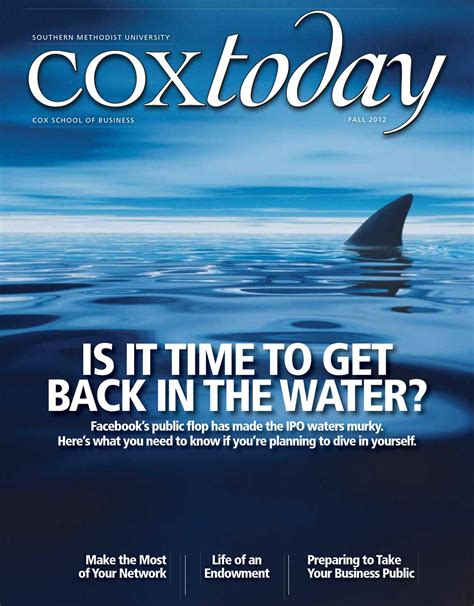 Cox Mba Class Profile by Coxtoday Fall 2012 By Smu Cox School Of Business Issuu