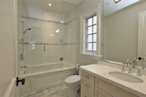 seamless bathtub surrounds beadboard ceiling transitional bathroom matthew