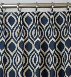 navy blueindigo light beige linen trellis