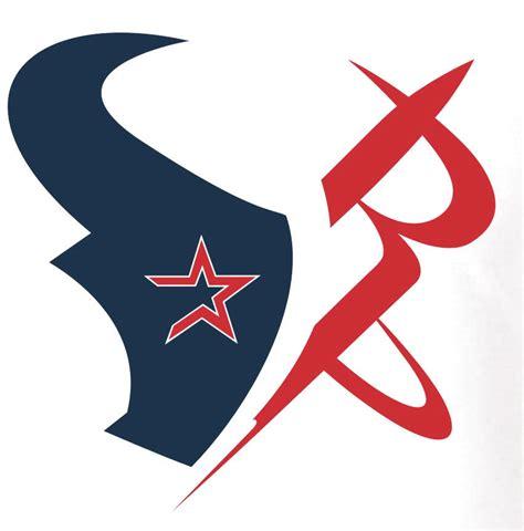 design logo houston houston sports shirt made up of texans astros rockets