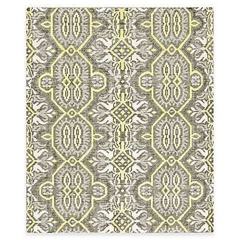 tracy porter rugs tracy porter 174 poetic wanderlust 174 rumi rug in maize bed bath beyond