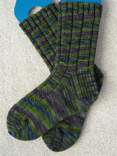 pattern socks magic loop free cuff down sock knitting patterns using the magic loop