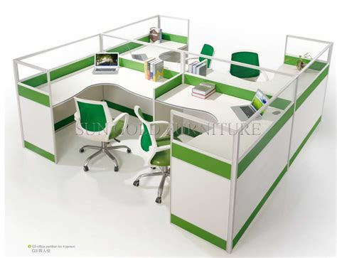 four person office desk china modern office furniture 4 person office cubicle