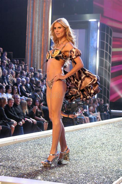 12th Annual Victorias Secret Fashion Show by Heidi Klum S Secret Editorial Image Image 35221885