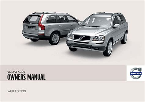 volvo xc90 owners manuals