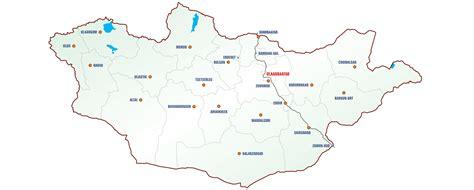 mongolia map mongolian geography maps