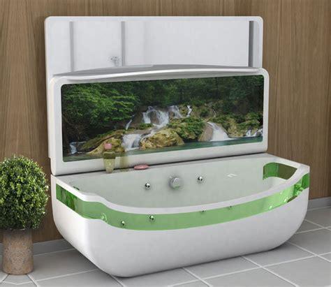 Small Whirlpool Tub Whirlpool Bath Tub Washbasin Unit A Bathroom Located