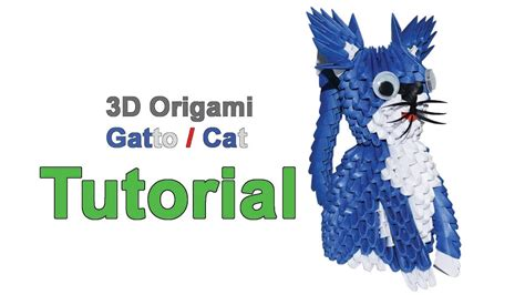 tutorial origami gatto origami 3d cat tutorial 1 32 origami 3d gatto tutorial
