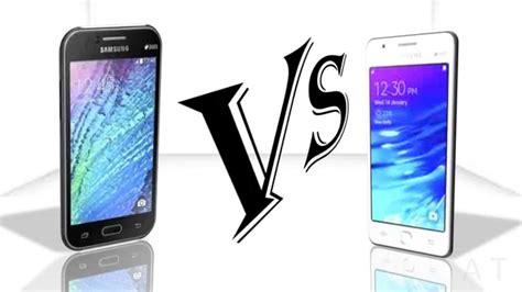 Samsung J1 Dan Z1 samsung galaxy j1 vs samsung z1