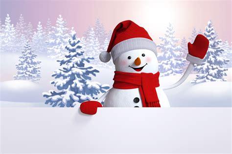 imagenes navidad nieve fondo de pantalla muneco de nieve arboles de navidad hd