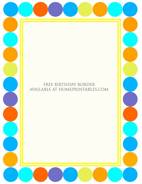 Borders For Invitation Cards Free