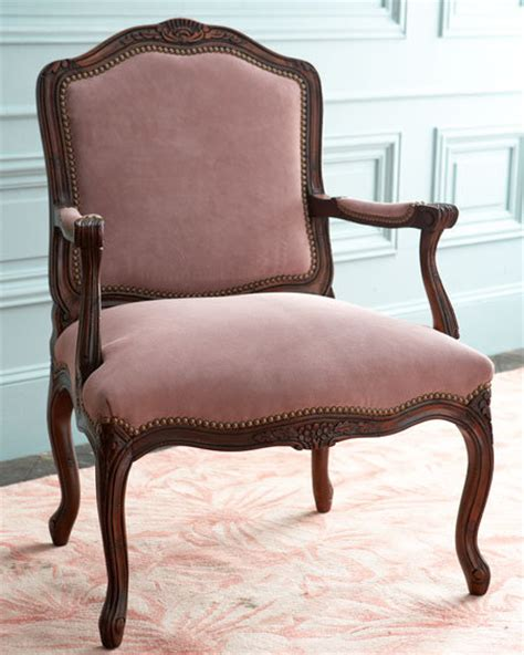 chaise masculine or feminine trend alert feminine nailhead furniture popsugar home
