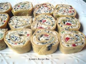 lynda s recipe box tortilla pinwheel appetizers