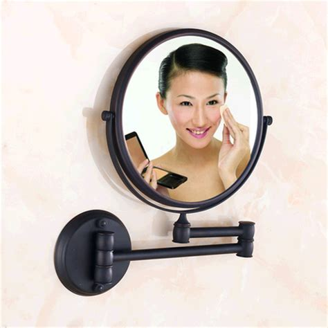 93 magnifying mirror for bathroom wall antique black 8 antique black 8 inch bathroom mirrors mirrors