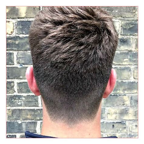 mens haircuts in the back good short mens haircuts together with tapered back