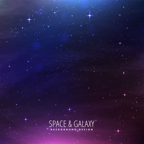 galaxy vector wallpaper fantastic galaxy background with purple lights vector