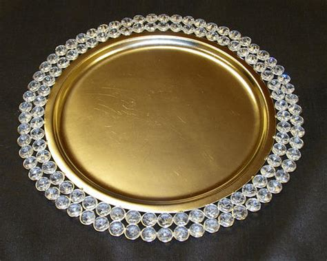 charger plates crystal charger plate exporter  moradabad