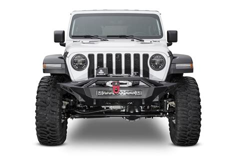 jeep front addictive desert designs jeep jl stealth fighter winch