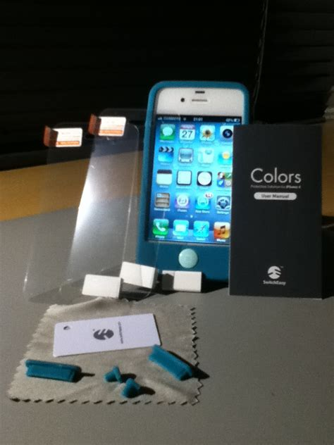 Switcheasy Colors For Iphone 44s review switcheasy colors for iphone 4 4s user
