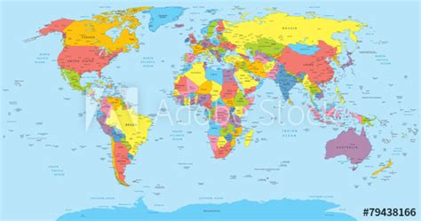 A World Of Candids Nation 8 2 by World Map With Countries Country And City Names Buy