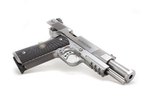 combat tactical wilson combat tactical elite 1911 w rail 9x19mm te fs 9