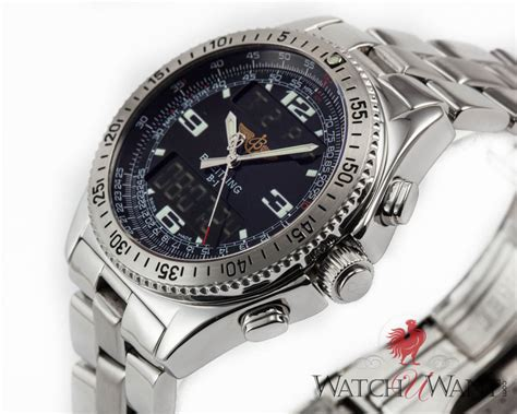 sold listing breitling b 1 chronograph digital