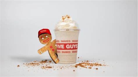 guys  gingerbread milkshake