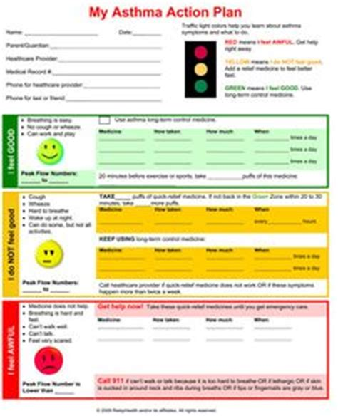 my asthma plan template 1000 images about school nursing asthma and on