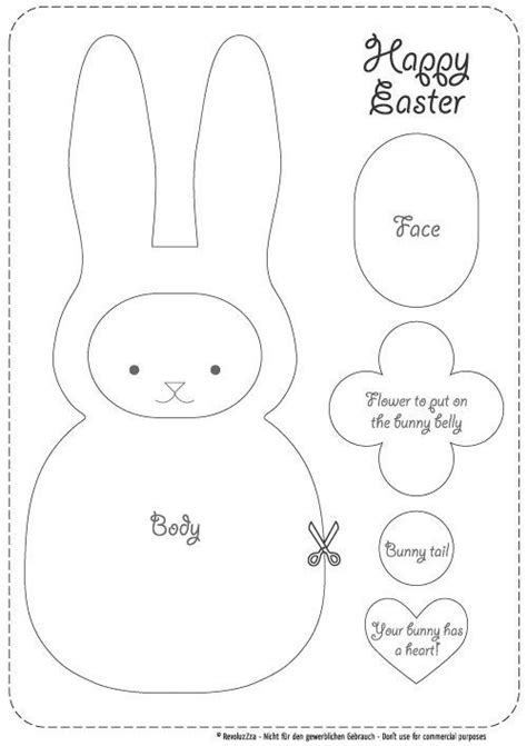 best photos of easter bunny cutouts printable easter