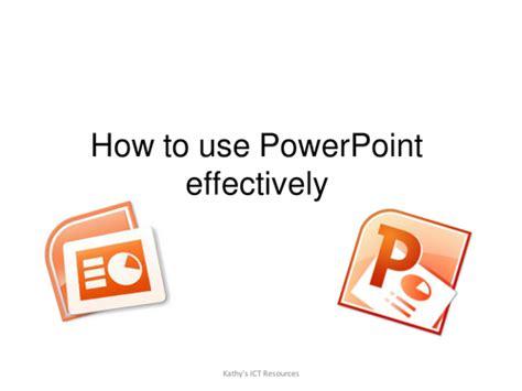 powerpoint tutorial ks2 using powerpoint effectively by icklekid teaching