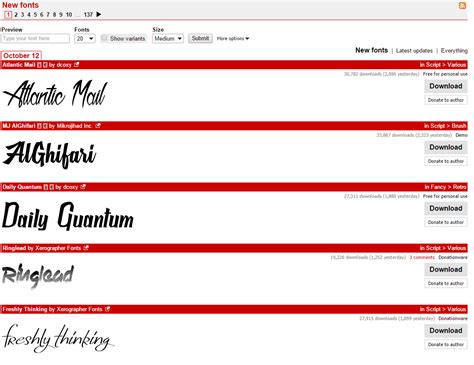 dafont ipad 4 awesome sites for free fonts devzum