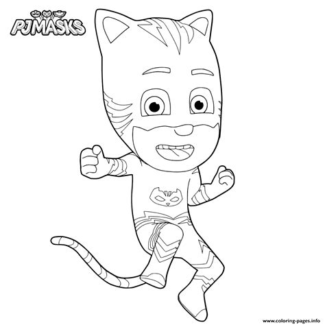 printable coloring pages pj masks news pj masks coloring pages printable