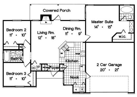 1300 square foot house 1300 square feet 4 bedrooms 2 batrooms on 1 levels house plan 1263 all house plans