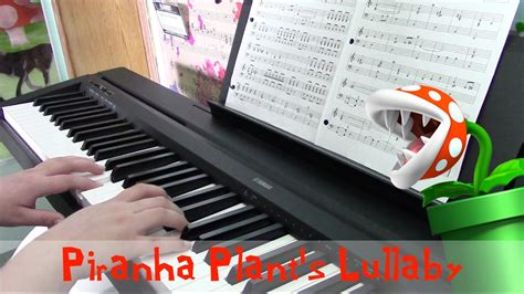 s lullaby piano cover piranha plant s lullaby mario 64 piano cover