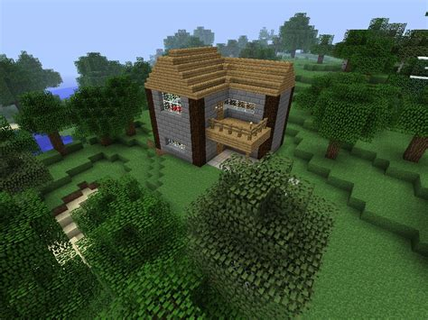 the basic house basic house minecraft project