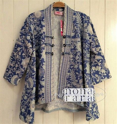 Outer Blazer Jaket Batik Modern the 25 best batik blazer ideas on