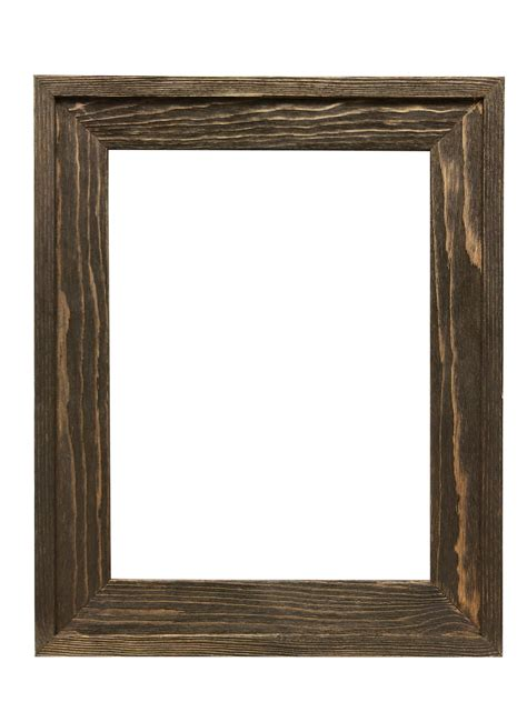 Wood Frame by 2 5 8 Quot Rustic Barnwood Distressed Wood Picture Frame