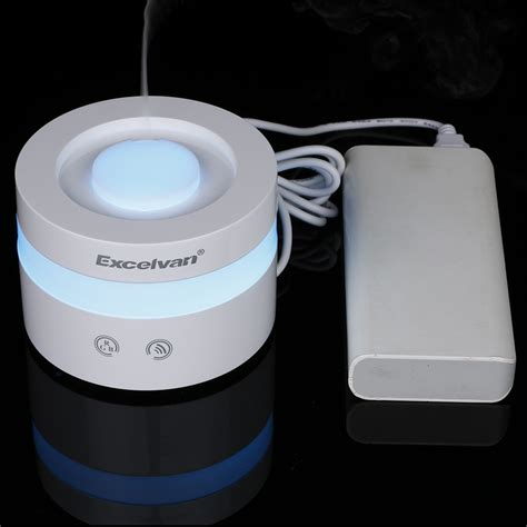 Essential Aroma Diffuser Humidifier 7 Led Color Nig Murah 7color led usb ultrasonic essential air humidifier