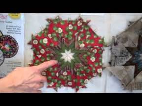 Folded star hot pad youtube