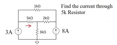 how to work out current through a resistor electrical engineering archive february 01 2015 chegg