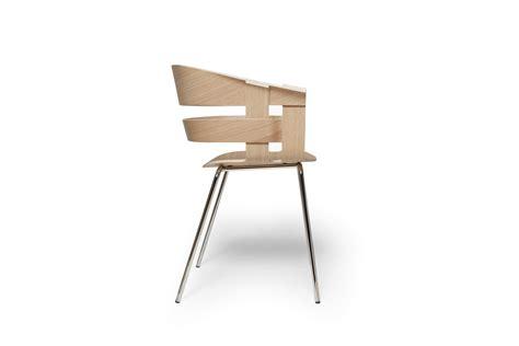 sedie cromate design house stockholm sedia wick seduta in rovere gambe