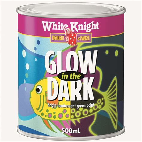 glow in the paint outdoor use white 500ml green glow in the paint bunnings
