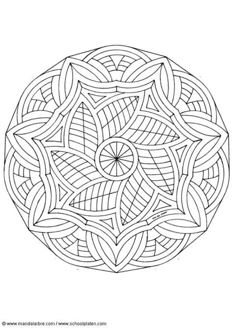 detailed mandala coloring sheets back to coloring pages