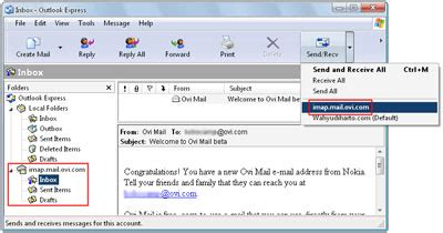 nokia ovi mail migrates to accessing nokia ovi mail from outlook express eko