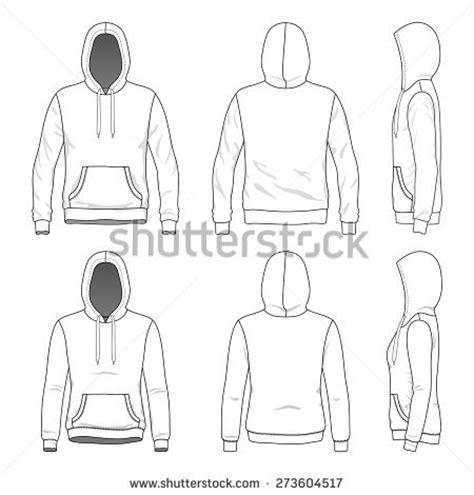 Sweater Zipper U Backfront Logo sweatshirt template stock images royalty free images